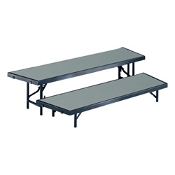 Tapered Standing Choral Riser ( Polypropylene Finish. Available in 3 height choices)