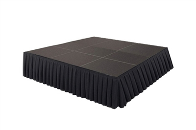 144 SQ. FT STAGE SYSTEM W/ SKIRTING - 12 FT X 12 FT X 16""