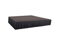 144 SQ. FT STAGE SYSTEM W/ SKIRTING - 12 FT X 12 FT X 24""