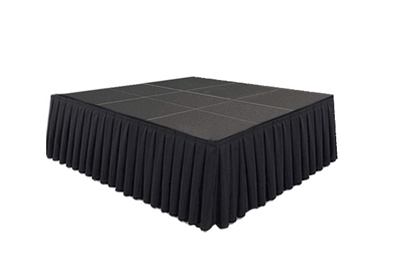 144 SQ. FT STAGE SYSTEM W/ SKIRTING  - 12 FT X 12 FT X 32""