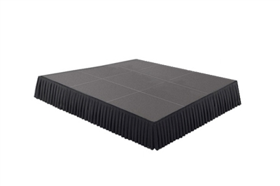 144 SQ. FT STAGE SYSTEM W/ SKIRTING - 12 FT X 12 FT X 8""
