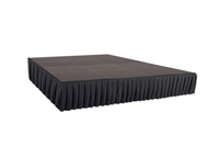 192 SQ. FT STAGE SYSTEM W/ SKIRTING  - 12 FT X 16 FT X 24""