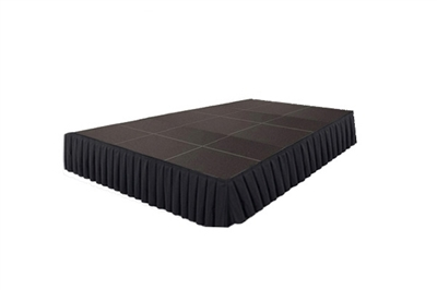 240 SQ. FT STAGE SYSTEM W/ SKIRTING - 12 FT X 20 FT X 16""