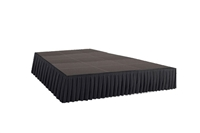 240 SQ. FT STAGE SYSTEM W/ SKIRTING - 12 FT X 20 FT X 24""