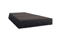 288 SQ. FT STAGE SYSTEM W/ SKIRTING - 12 FT X 24 FT X 24""