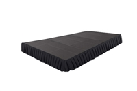288 SQ. FT STAGE SYSTEM W/ SKIRTING - 12 FT X 24 FT X 8""