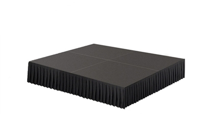 64 SQ. FT STAGE SYSTEM W/ SKIRTING - 8 FT X 8 FT X 8""