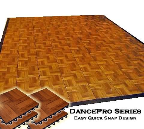 DancePro Modular Portable Wooden Dance Floor X - Portable dance floors for home use